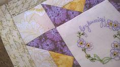 """Helene Juul Design http://helenejuuldesign.blogspot.dk/ Flora Nordica BOM blok, """"Forglem mig ej""""."""