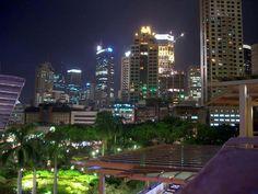 Greenbelt, Makati, Philippines at night time