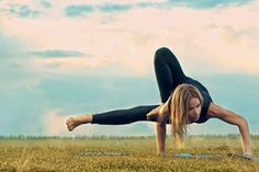 Yoga. it would be so awesome if I could do this!