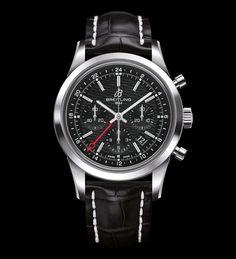 Breitling Transocean Chronograph GMT #watch #Breitling