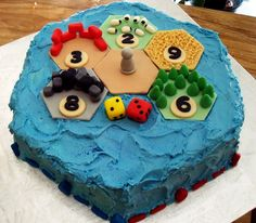 Settlers of Catan Birthday Cake | A Blog Called Cake