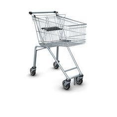 Nákupní vozíky Wanzl řady ELT jsou uzpůsobeny pro přesun na dopravníku  eskalátoru v rámci pater obchodních center.