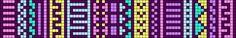 Alpha Friendship Bracelet Pattern #9867 - BraceletBook.com