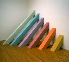 early judy chicago minimalist works