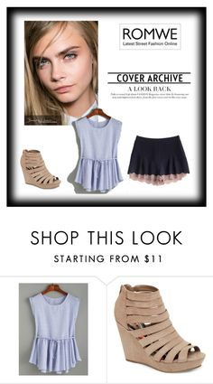 """cara"" by melyssakip ❤ liked on Polyvore featuring Madden Girl"