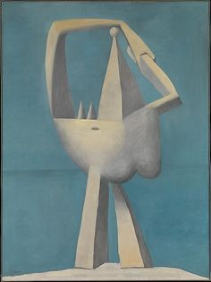 Pablo Picasso, Nude Standing By The Sea,1924 on ArtStack #pablo-picasso #art