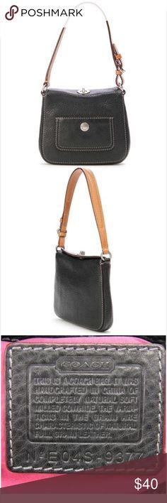 Spotted while shopping on Poshmark: COACH Chelsea Pebbled Leather Mini Turnlock Hobo! #poshmark #fashion #shopping #style #Coach #Handbags