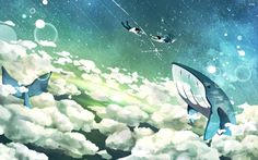 cloud-sky-whale-couple.jpg (2880×1800)