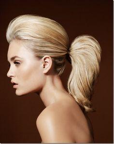 Queue de cheval bombée Coiffure Cheveux Long, Cheveux Mi Long, Coiffure  Femme, Beaux d49069dcfe3