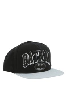 3f6427a551e Batman Logo Snapback Hat Black Snapback Hats