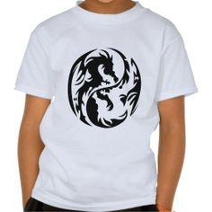 Tribal Dragons T-shirt