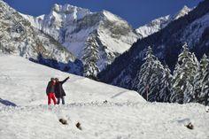Winterwandern in den 7 Oberstdorfer Tälern.