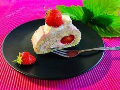 Epres mákos piskótatekercs Cheesecake, Pudding, Food, Meal, Cheesecakes, Custard Pudding, Essen, Hoods, Puddings