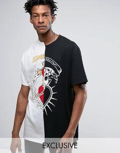 Lækre adidas Originals T Shirt With Chest Logo AJ7236 Grey