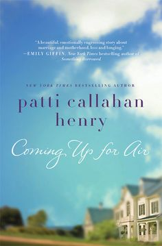 Coming Up for Air....one of those books that makes you wish you could just curl up and just keep reading....