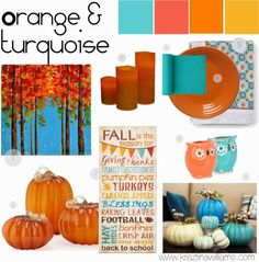 Krisztina Williams: Colorful Home Decor Palettes for Fall