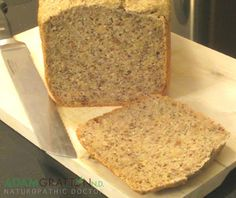 adamgrattonND: Bread Machine Recipe - Gluten Free Multi-seed Bread