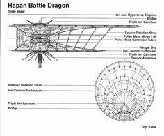 Hapan Battle Dragon Blueprint