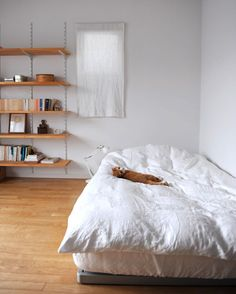 Design*Sponge / Minimal Spaces #minimal #bedroom #interior