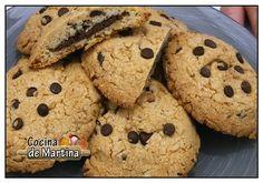 Cookies rellenas de nutella | Recetas de cocina | Cocina de Martina