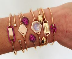 #JemmaWynne #finejewelry #jewelry #JaimieGellerJewelry For more info about these bracelets email us at shop@jaimiegellerjewelry.com Stylish Jewelry, Boho Jewelry, Fine Jewelry, Gold Bracelets, Pandora Jewelry, Priorities, Jewerly, Chokers, Presents
