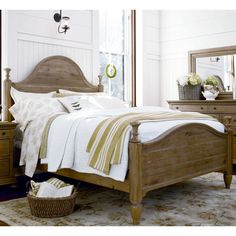 Have to have it. Paula Deen Down Home Poster Bed - Oatmeal - $763.03 @hayneedle
