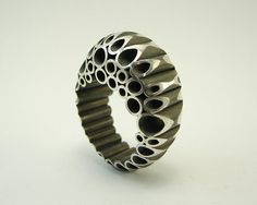 TUBES SERIE No 4 Silver Ring by GustavoParadiso on Etsy, €150.00