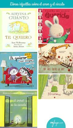 Libros infantiles sobre los sentimientos: el amor Books To Read, My Books, Emotional Intelligence, Love Is All, Montessori, My Music, Childrens Books, Parenting, Teacher