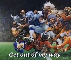 Cowboys all the way                                                                                                                                                                                 More