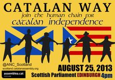 The Catalan Way in Scotland