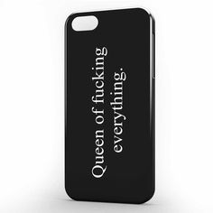 Queen Of Fucking Everything iPhone 5 | 5s Case, 3d printed IPhone case https://www.artbetinas.com/collections/iphone-5-5s-case-3d-printed-iphone-case/products/dd_queen_of_fucking_everything_iphone_5_-_5s_case-_3d_printed_iphone_case