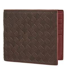 BOTTEGA VENETA Intrecciato Leather Billfold Wallet.  bottegaveneta  bags   leather  wallet  accessories   805ff8a24bfac