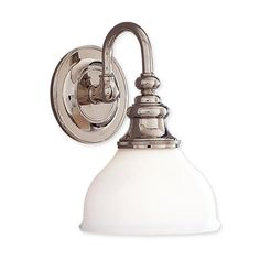 Shop Hudson Valley Lighting  5901-PN Sutton Single-Light Bathroom Sconce at ATG Stores. Browse our wall sconces, all with free shipping and best price guaranteed.