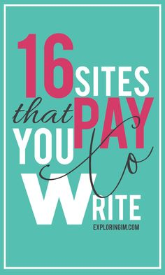 16 ONLINE WRITING SITES THAT PAY: GUIDE TO START A FREELANCE WRITING BUSINESS #writers #freelance #makemoney #money #makemoneyfromhome