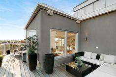 Penthouse Outside Living, Outdoor Living, Outdoor Decor, Living Environment, Backyard, Patio, Sweet Home, Home And Garden, House