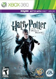 Xbox 360 kinect Harry Potter yes please