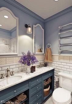 Санузел - Дизайн интерьеров | Идеи вашего дома | Lodgers