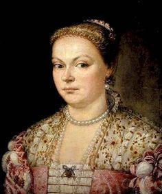 Parrasio Micheli Portrait of a Lady 1550