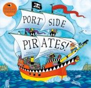 Portside Pirates Words and Music by Oscar Seaworthy Illustrated by Debbie Harter This book features a sing-along CD Published by Barefoot Books Pirate Songs, Science Fiction, Famous Pirates, Barefoot Books, Award Winning Books, Pirate Life, Pirate Theme, Oscar, Fantasy