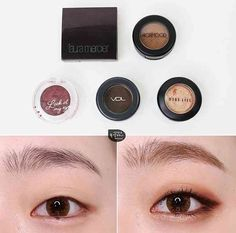 There are quite a lot of people who want a makeup tutorial. There are quite a lot of people who want a makeup tutorial, finally! I brought it u. Cute Eye Makeup, Monolid Makeup, Asian Eye Makeup, Makeup Eyes, Asian Makeup Tutorials, Korean Makeup Tips, Makeup Inspo, Makeup Inspiration, Makeup Goals