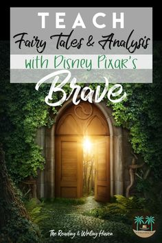 Teaching fairy tales? Analyzing the movie Brave and pairing it with Grimm Brother's stories is a great way to engage middle and high school students.