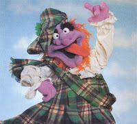 Argyle Gargling Garshwood muppet