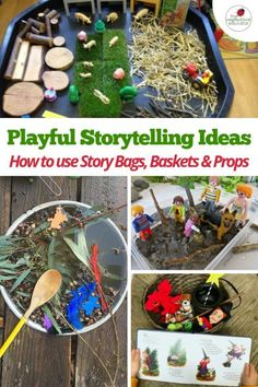 Playful Storytelling - Ideas for using a Story Bag, Basket or Prop Box!