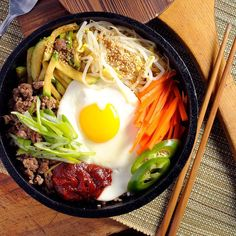 5 Most Popular Korean Food Dishes Beyond Kimchi: A Beginner's Guide - Korean food - Essen Popular Korean Food, New Recipes, Healthy Recipes, Healthy Food, Food Website, Eating Plans, Food Dishes, Meal Planning, Food And Drink