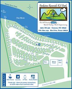 Parkview Riverside RV Park-great little RV park across from Garner State Park on the Frio River!!