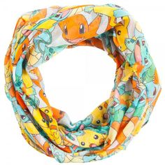Pokemon All Over Print Scarf