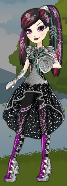 Ever After High Dragon Games Raven Queen Dress Up Game : http://www.starsue.net/game/Dragon-Games-Raven-Queen.html Have Fun! ♥