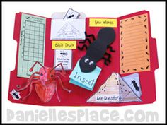 Ant Bug Buddy Study Lapbook Lesson from www.daniellesplace.com (Consider the Ants- Proverbs 6:6-8)