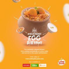 Oh My Biryani on Behance Food Graphic Design, Food Poster Design, Event Poster Design, Creative Poster Design, Ads Creative, Creative Posters, Creative Advertising, Graphic Design Posters, Menu Design
