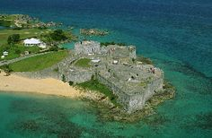 Fort St. Catherine, St. Georges, Bermuda. We rode a moped from here all the way around the island back to Grotto Bay Resort....what great memories!